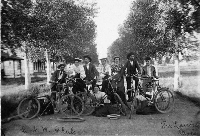 Durango Wheel Club circa 1900