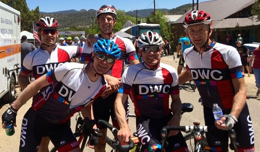 DWCRS at 2014 GIla finish